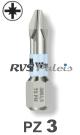 PZ 3 / per stuk - RVS (INOX) 1/4 bit
