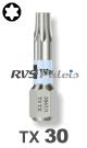 TX 30 / per stuk - RVS (INOX) 1/4 bit